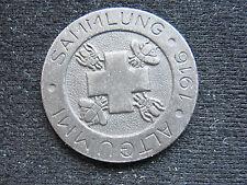Medaille Altgummi Sammlung Deutsches Rotes Kreuz 1916