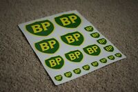 BP 89 Shield Racing Car Decals Stickers Petrol Gas Fuel Garage Pump Station