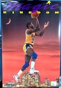 "Magic Johnson Lakers Magic Kingdom 1991 Costacos Bros. Poster (35""x23"")"