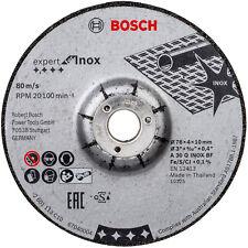 Bosch Schruppscheibe (2 Stück) für GWS 10,8 / 12V-76 Expert for Inox 76x4x10 mm