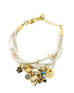 Juicy Couture Multi Charm Bracelet White * YJRU4034 * New * NWT