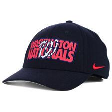 Washington Nationals Nike MLB Verbiage Logo Flex Cap Hat Unisex Baseball  M l DC 6ddb52a4578