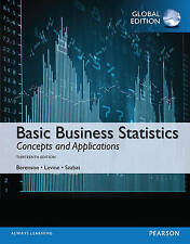 Basic Business Statistics, Global Edition by Kathryn A. Szabat, Timothy C....