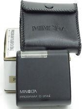 Minolta 314I programma D Flash + custodia morbida-Boxed -