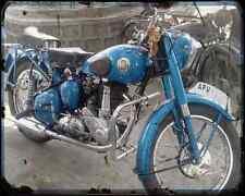 Bsa C12 02 A4 Metal Sign Motorbike Vintage Aged