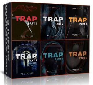 Trap Bundle Packs 1-6 Wav Loops for FL Studio Bitwig Logic Pro Cubase Ableton