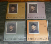 WALTER GIESEKING CLAUDE DEBUSSY - ANGEL RECORDS 4 X VINYL ALBUM ALL NR MINT