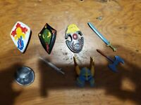 LJN Dungeons And Dragons TSR weapons accessories lot RARE 80's D&D figures