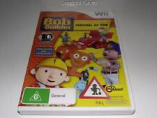 Bob the Builder Festival of Fun Nintendo Wii PAL *Complete* Wii U Compatible