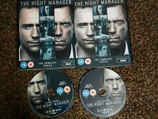 The Night Manager DVD 2016 FREE POSTAGE  2x discs & artwork only no plastic case