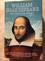 Shakespeare - The Complete Works by William Shakespeare (1993, Hardcover)