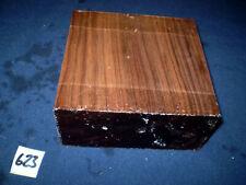 Nussbaum amerikanisch drechseln  schnitzen  140 x 140 x 60 mm   Nr. 623