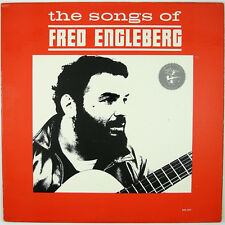 FRED ENGLEBERG The Songs of Fred Engleberg LP 1964 FOLK NM- NM-