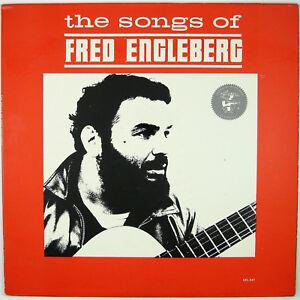 FRED ENGLEBERG The Songs of Fred Engleberg LP 1964 FOLK NM- NM-