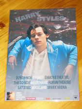 HARRY STYLES  - 2017 Australia Tour - Laminated Promo Poster - ONE DIRECTION