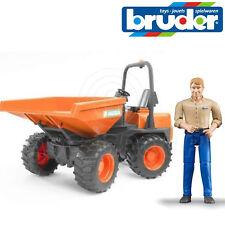 Bruder Giocattoli 02449 PRO AUSA MINI DUMPER CON SCARICO Bin & driver / MAN 1:16