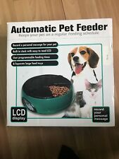 Automatic 6 meal Pet Feeder