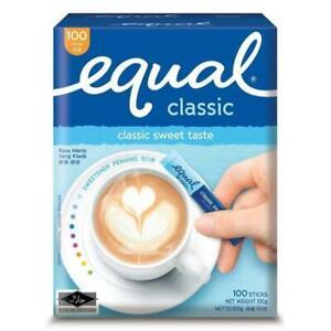 Equal Classic Sweetener 100 Sticks (100g)- Free shipping