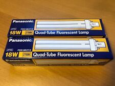 (2-Pack) Panasonic FDS18E27/2 18W Fluorescent CFL Lamp Light Bulb 2-Pin 2700K