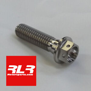 M8x30mm  TITANIUM RACE BOLTS 1.25 Pitch (DRILLED FOR LOCKWIRE) 1.25 pitch