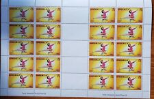 Anguilla 1980 Olympic Games/Skating/Sports 20 stamps M/S