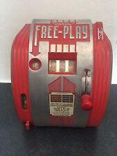 1940s Daval Gumball Freeplay Trade Stimulator Slot Machine