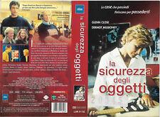 LA SICUREZZA DEGLI OGGETTI (2001) vhs ex noleggio