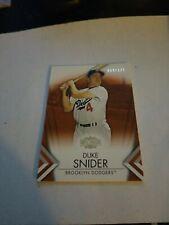 Duke Snider Amber Trading Card Single 2012 Topps Triple Threads #61 059/125