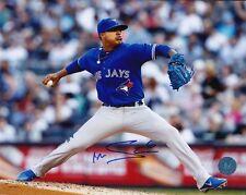 Toronto Blue Jays Marcus Stroman Signed MLB Baseball 8x10 Photo Autograph