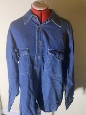 Large Genuine Union Bay Easy Fit Denim Shirt - Best Wear