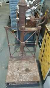 Rare Cast Iron  Scale  By Bartlett And Sons