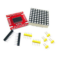 Electronic Dot Matrix Parts Microcontroller DIY Raspberry Pi Control Module