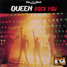 Queen - ROCK YOU - 14 Track PromoCompilation CD © 2009 (Mail On Sunday) card