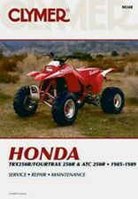 Clymer Repair Service Shop Manual Honda ATC250R 85-86 TRX250R Foutrax 250R 85-89