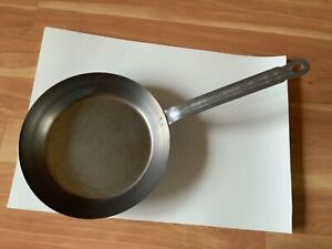 "VOLLRATH 58930 12"" FRENCH STYLE CARBON STEEL FRY PAN NOS"