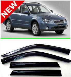 For Subaru Outback III Window Visor Rain Guard Shade Wind Sun Deflector 03-09
