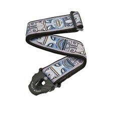 Planet Waves Planet Lock Guitar Strap, Tiki