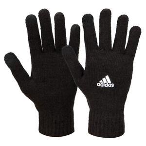 Adidas Tiro Knit Gloves Winter Sportswear Running Sports Outdoor Black GH7252