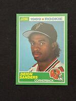 1989 Score RC Rookie Card #246 Deion Sanders Atlanta Falcons *NM-MINT or Better*