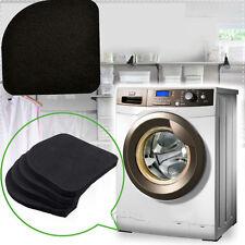 4 X Square Refrigerator Mute Mat Washing Machine Anti Vibration Pad Shock Pads