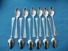 12 cuillères a café  en métal argenté orfèvre WMF modèle type spatours en écrin