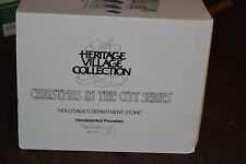 """DEPT56 HERITAGE VILLAGE CHRISTMAS IN THE CITY """"HOLLYDALE'S DEPARTMENT STORE"""""""