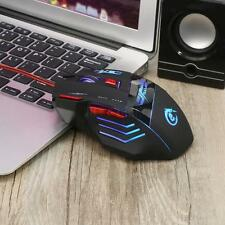 5500 DPI 7 Button LED Optical USB Wired Gaming Mouse Mice For Pro Gamers Laptop