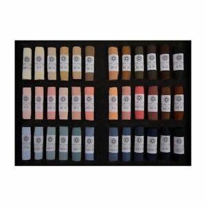 Unison Artist Quality Soft Pastels Portrait Set of 36 Colours