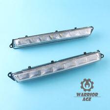 2Pcs Left+Right LED Driving Light Lamp for Mercedes X164 X166 GL-Class ML63 AMG