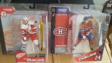 CHRIS CHELIOS DETROIT RED WINGS McFARLANE'S SPORTS SERIES 7 and 8