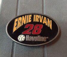 BUCKLES OF AMERICA NASCAR Ernie Irvan #28 Havoline Pewter Belt Buckle