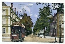 CPA PK AK FRANCE 08 CHARLEVILLE GROS PLAN TRAMWAY GYMNASIUM AVENUE PHILIPPOTEAUX