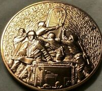 2015 Monuments Men ~ US Mint Issued Bronze Medal ~ WWII Historical Piece!