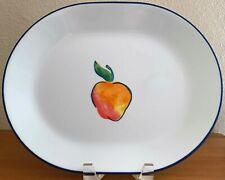 "Corning FRUIT BASKET (Corelle) 12"" Oval Serving Platter"